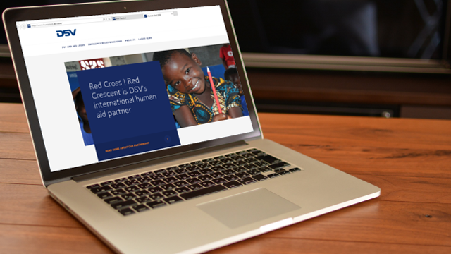Visit DSV's new human aid website