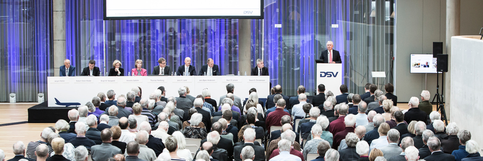 DSV Annual General Meeting 2017