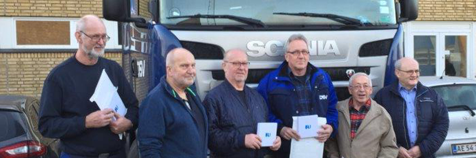 DSV drivers awarded