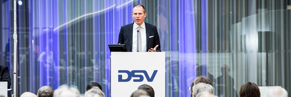 Jens Bjørn Andersen at DSV Annual General Meeting 2017