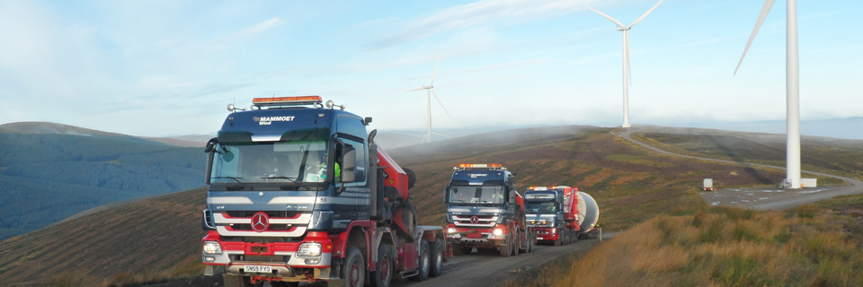 DSV oversees transport of Siemens wind turbines to the Scottish Clyde Wind Farm