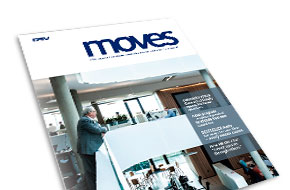 DSV corporate magazine, Moves, August 2015
