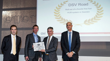 CNH Sustainability Logistics Supplier Award 2016