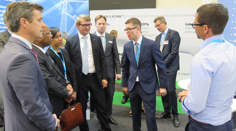 DSV at Windaba South Africa Crown Prince Frederik visits