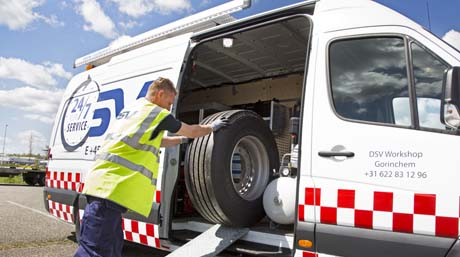 DSV Equipment roadside assistance van