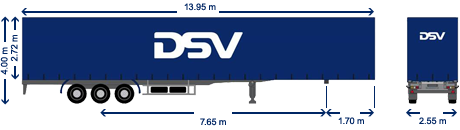 Curtain Trailers With Movable Curtains For Easy Access Dsv